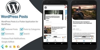 WordPress Posts - Flutter App Template