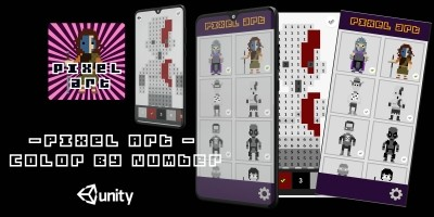 Pixel Art - Color By Number Unity Template