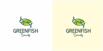 Green Fish Logo