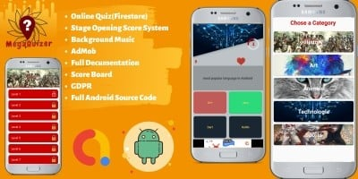 Multi-Stage Quiz Firestore - Android Source Code