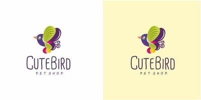 Cute Bird Logo