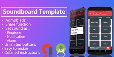 Soundboard Template - Android App Template