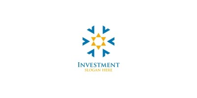 Investment Marketing Financial Logo