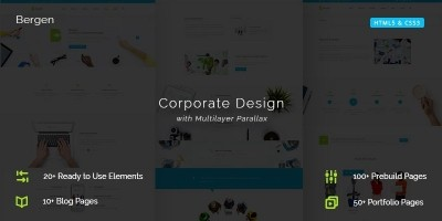 Bergen Multi-purpose Business HTML5 Template