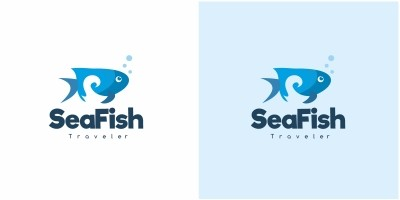 Sea Fish Logo