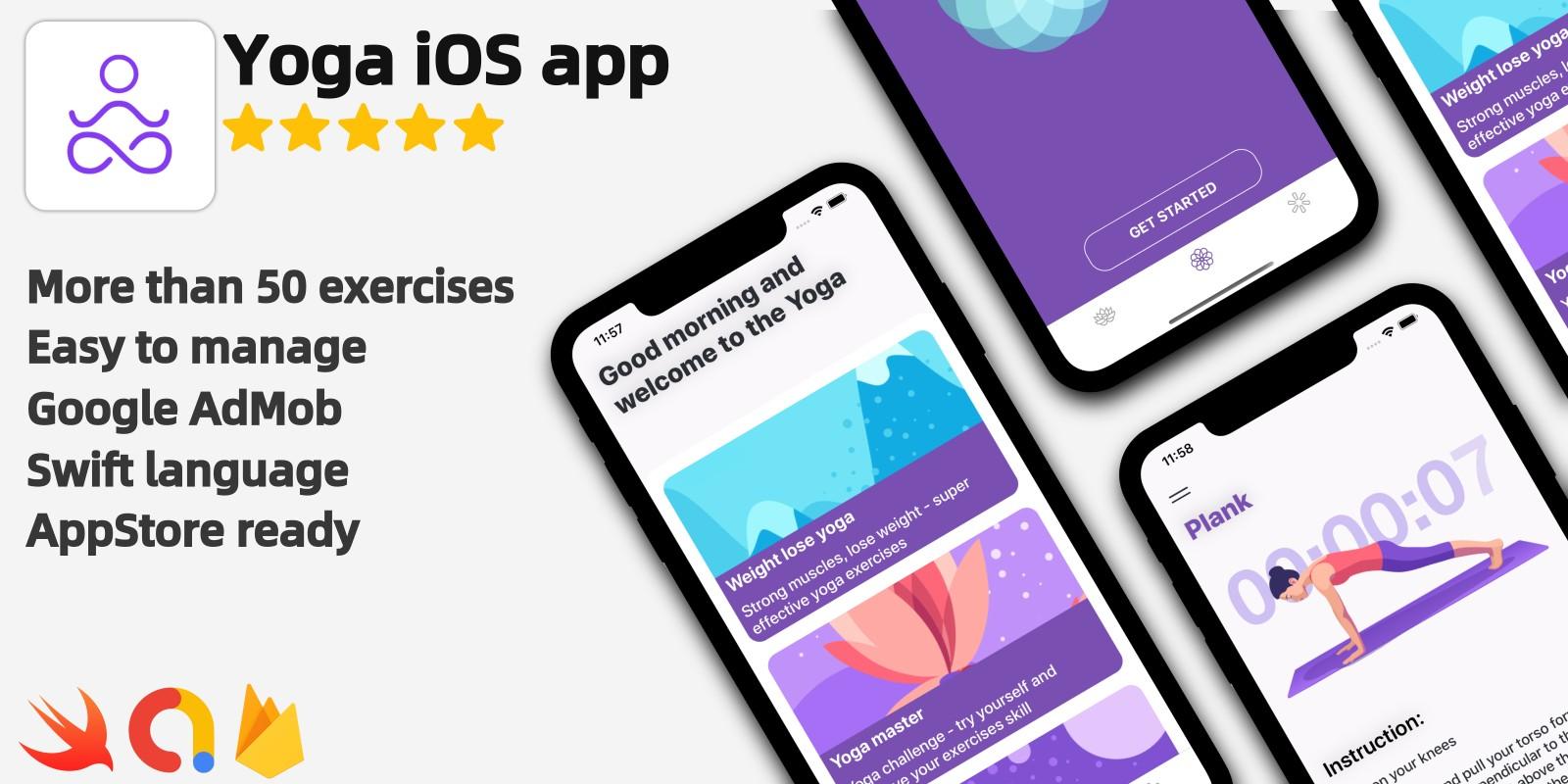 Yoga - Full iOS Yoga Workout Application