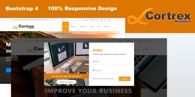 Cortrex Business - Template HTML5