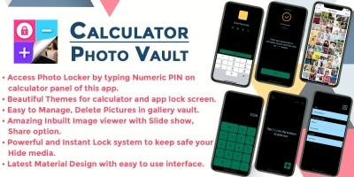 Gallery Lock Hide Photos iOS Objective C