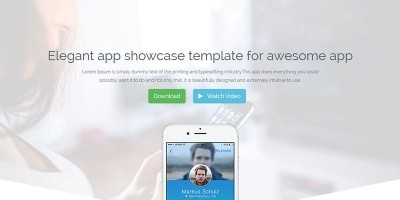 Appee - Bootstrap App Landing Page HTML Template