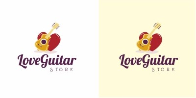 Love Guitar Logo
