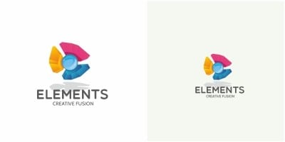 Elements Abstract Logo