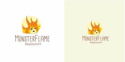 Monster Flame Logo