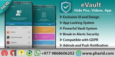 eVault - Android Vault Source Code