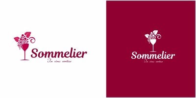 Wine Sommelier Logo