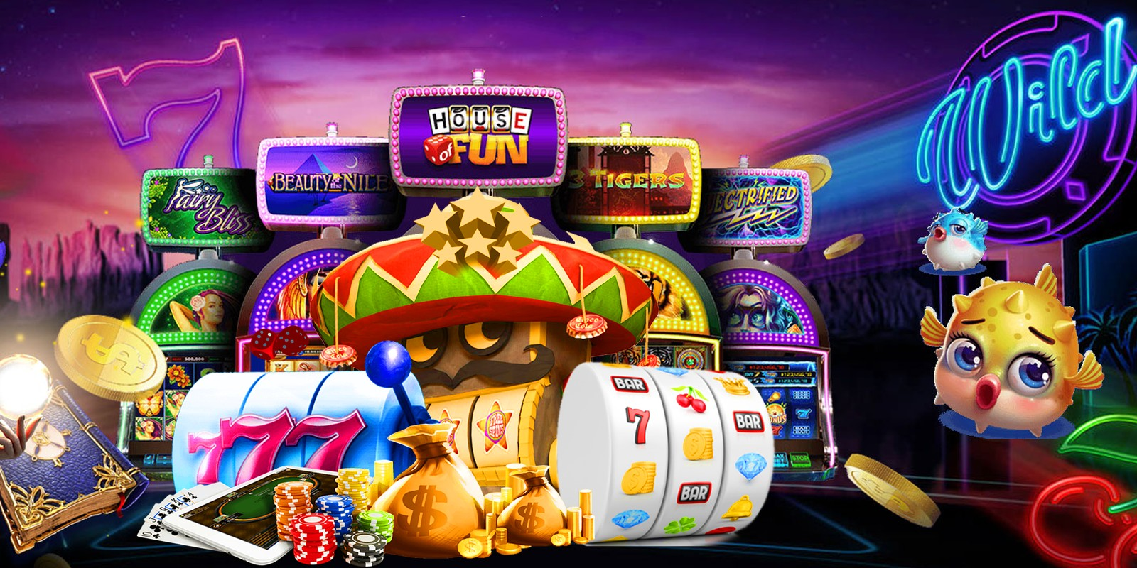 Lucky Now - Casino Game Cordova Android Project