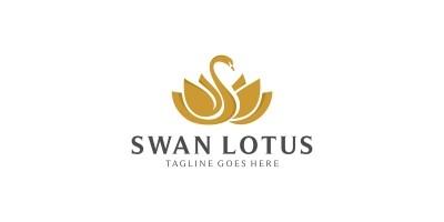 Swan Lotus Logo