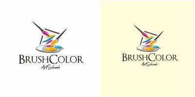 Brush Color Logo
