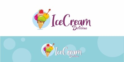 Ice Cream Logo
