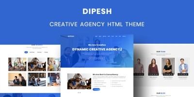 Dipesh - Creative Agency HTML Template