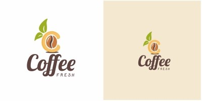 Coffee C Letter Logo