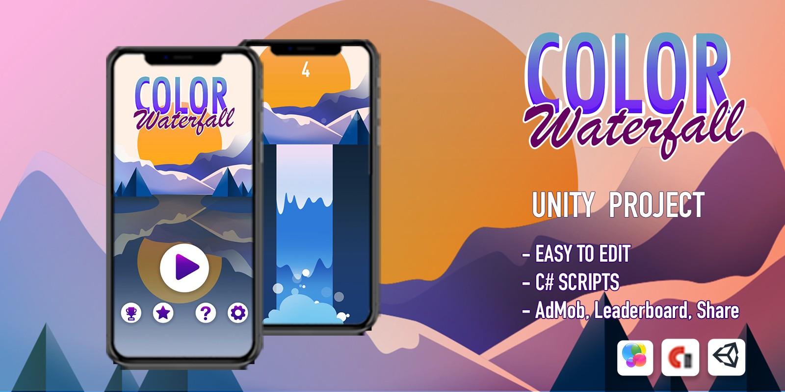Color Waterfall - iOS Source Code