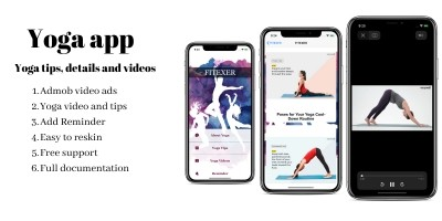Yoga App - iOS Template