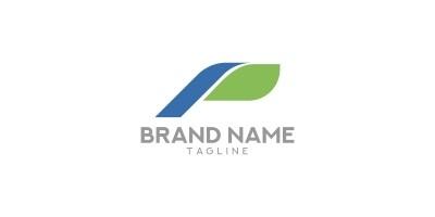 Letter P - Printing logo