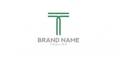 True line - Letter T