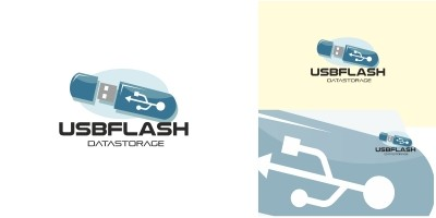 Usb Flash Logo