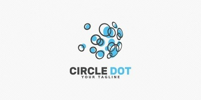 Circle Dot - Logo Template