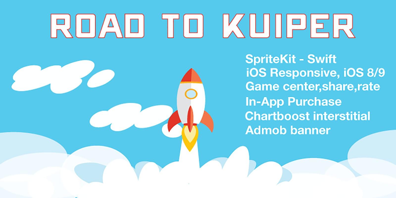 Road to Kuiper - iOS Game Source Code