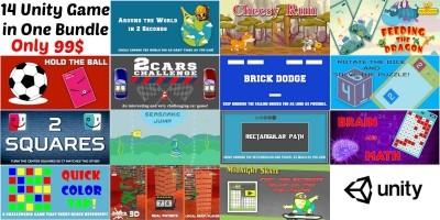 Unity Bundle - 14 Arcade Game