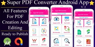 Android Super PDF Converter Source Code