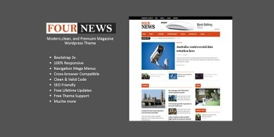 FourNews - WordPress Magazine Theme