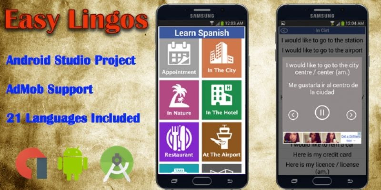 Easy lingos android app source code education and school app easy lingos android app source code pronofoot35fo Images