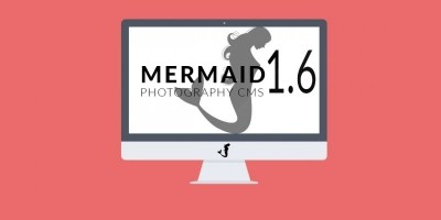 Create Photography Portfolio Website - Mermaid CMS