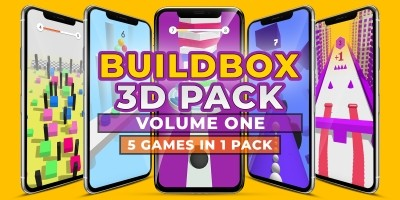 Buildbox 3D Pack - 5 In 1 - Volume One
