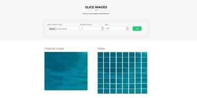 Image Slicer PHP