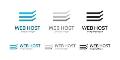 Web Hosting - Logo Template