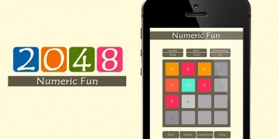 2048 Numeric Game - iOS App Source Code