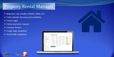 Property Rental Manager PHP Script