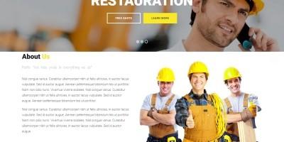 Bizconstruct - HTML Bootstrap Template