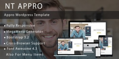 NT APPRO – App Presentation WordPress Theme