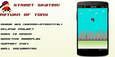 Street Skater - Android Game Source Code