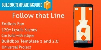 Follow That Line Game - Buildbox Template