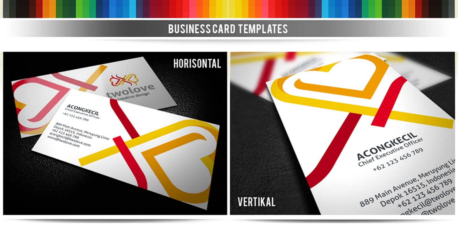 2Love - Premium Business Card Template