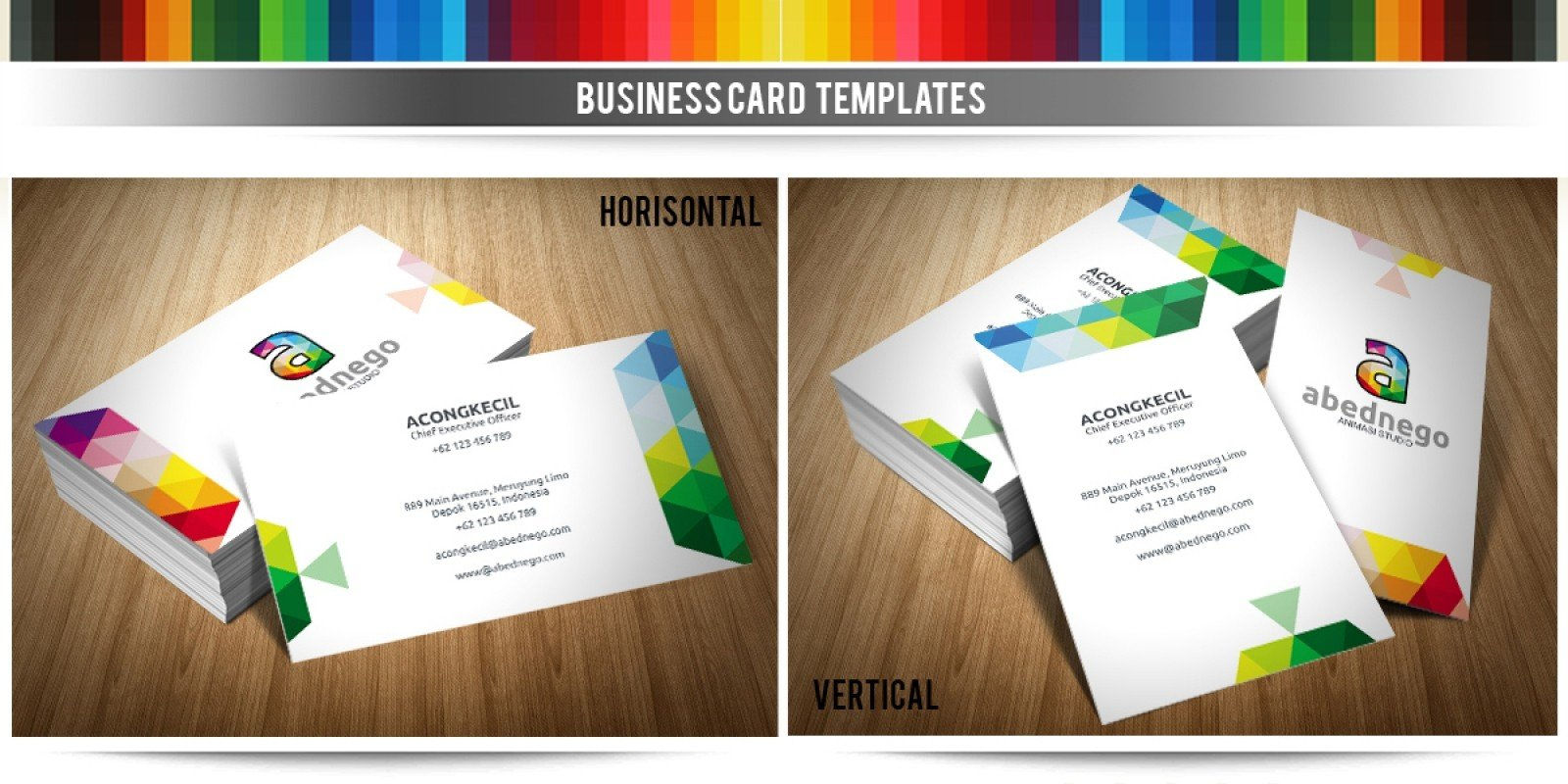 Abednego - Premium Business Card Template