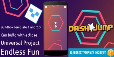 Dash Jump – Buildbox Template
