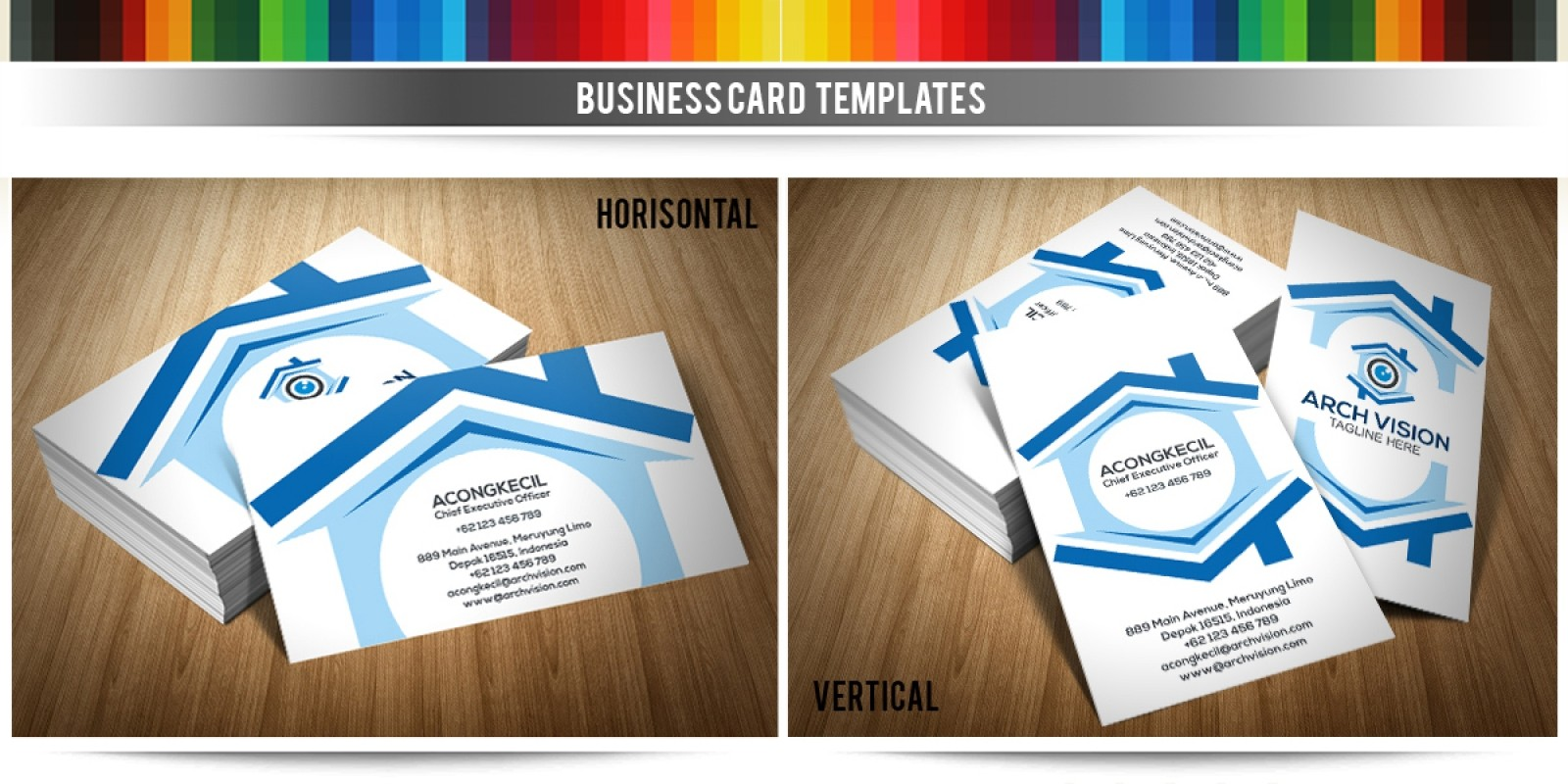 Arch vision premium business card template codester arch vision premium business card template cheaphphosting Choice Image