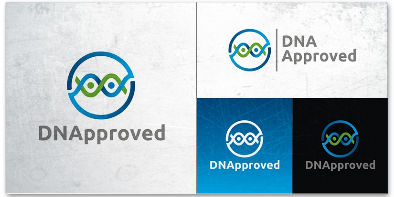 DNA Approved - Logo Template